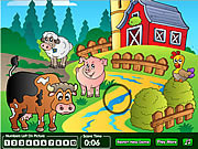 Farm hidden numbers game online játék